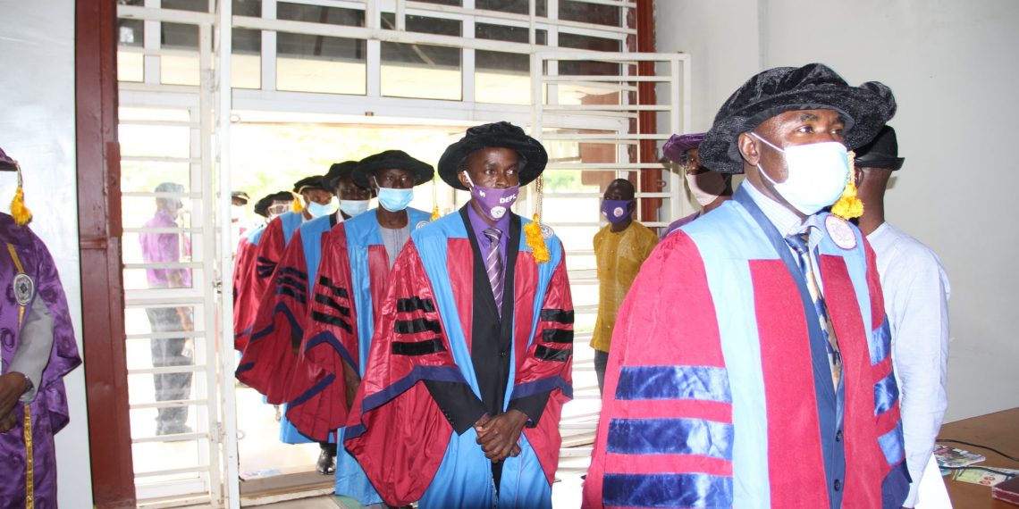 CODeL MATRICULATES PIONEER ODL STUDENTS